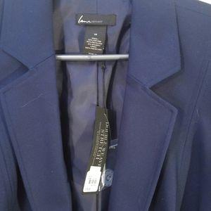 Blue women's blazer new w tags